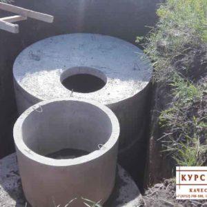 Железобетонные кольца колодца, доставка, монтаж в Курске (3)
